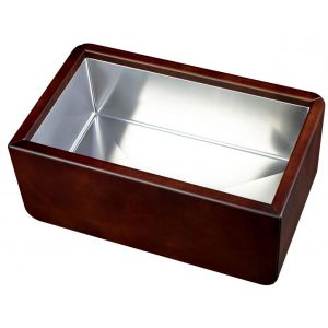 Leather Sink Chambord Dagobert Brown - E5000N0ST 117