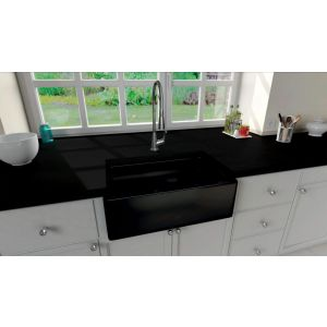 Ceramic Sink Chambord Philippe II black - E4800N0ST 009