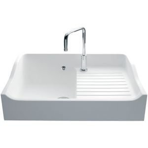 Évier en solid surface Luisina Concept EV159 - 900 x 610 mm