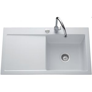Lavello in ceramica Luisina Amor EV5074 - 900 x 510 mm