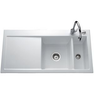 Lavello in ceramica Luisina Amor EV5076 - 1000 x 510 mm
