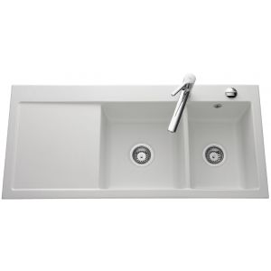 Lavello in ceramica Luisina Amor EV5078 - 1100 x 510 mm