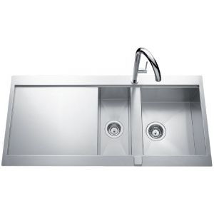 Lavello in acciaio inossidabile Luisina Adagio Plus EV5611E - 1000 x 520 mm
