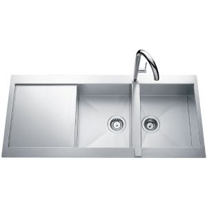 Lavello in acciaio inossidabile Luisina Adagio Plus EV5621E - 1160 x 520 mm